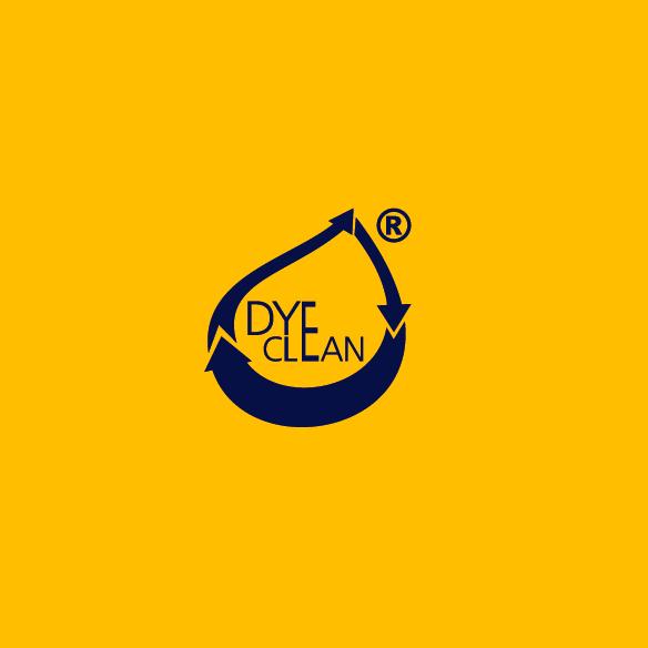 Logo Dye Clean Processo de Tingimento